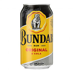 Bundaberg Rum and Cola - 375 ml cans thumbnail