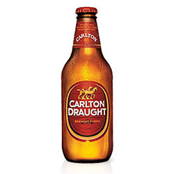 Carlton Draught Stubbies - 375 ml thumbnail