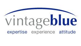 Vintage Blue logo