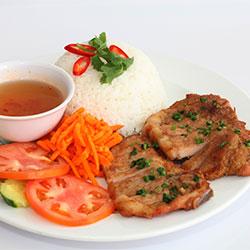 Pork chop with rice thumbnail