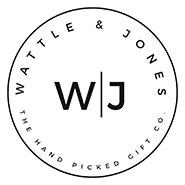 Wattle and Jones logo