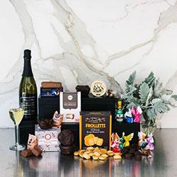 Sparkling wine sweet celebration gift hamper thumbnail