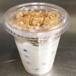 Greek yoghurt and muesli cup - 120 ml thumbnail