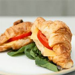 Cheese and tomato croissant - mini thumbnail