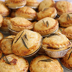 Assorted pies - mini thumbnail