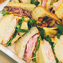 Mixed gourmet sandwiches thumbnail