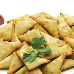 Cocktail samosas - mini thumbnail