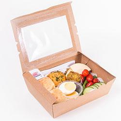 Vegetarian ploughmans lunch box  thumbnail