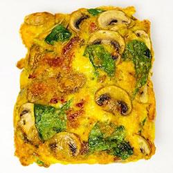 Gluten free vegetarian breakfast frittata thumbnail