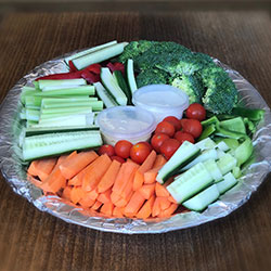 Vegetable crudites platter thumbnail