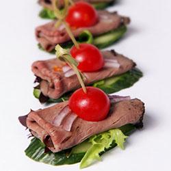Thai beef salad bites thumbnail