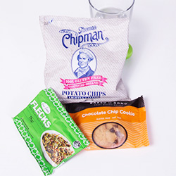 Sweet and savoury nut free snack pack thumbnail