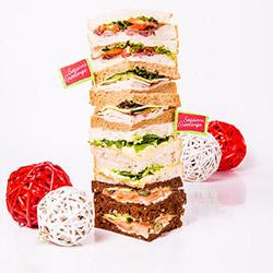 Christmas sandwich selection thumbnail