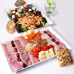 Meat and salad platter thumbnail