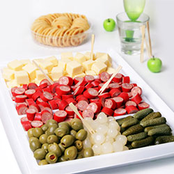 Retro cheese platter thumbnail