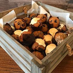 Assorted mini muffins platter thumbnail