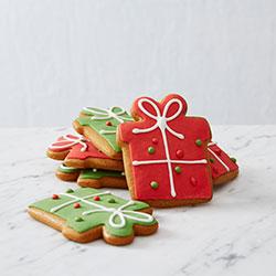 Christmas present cookies thumbnail