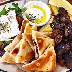 Greek feast lunch box thumbnail