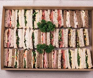 Classic finger sandwich thumbnail