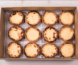 Portuguese custard tart box thumbnail