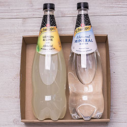 Schweppes natural sparkling mineral water - 1.1 litre thumbnail