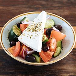 Greek salad - 350g thumbnail