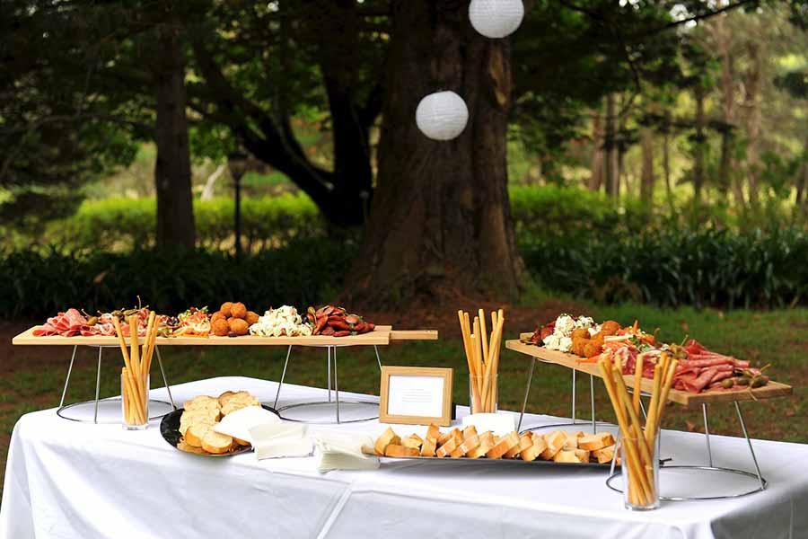 art kitchen corporate catering - anti pasti plank