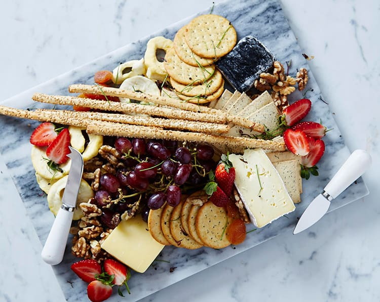 the catering department - cheese platter
