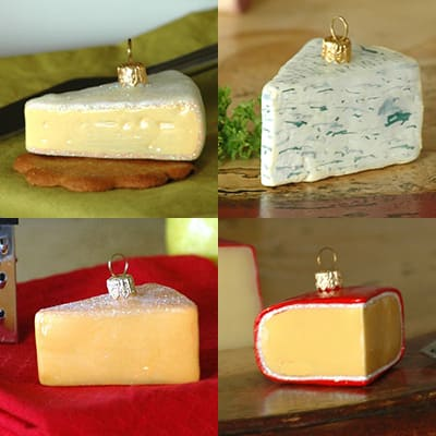 christmas party decorations - cheese
