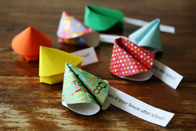 christmas party decorations - fortune cookie