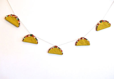 christmas party decorations - tacos