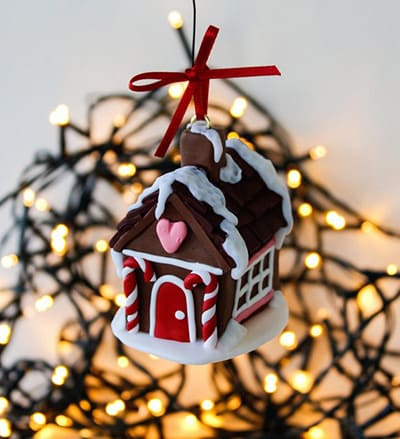 christmas party decorations - gingerbread house