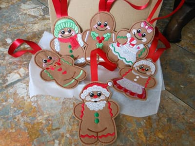 christmas party decorations - gingerbread man