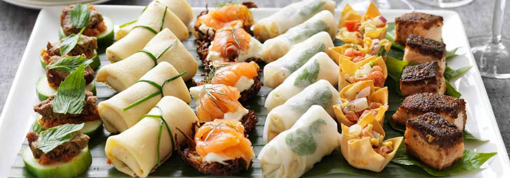 gourmet finger food catering - Order-In