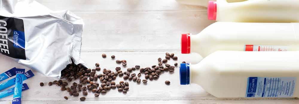 kitchen supplies - office milk delivery