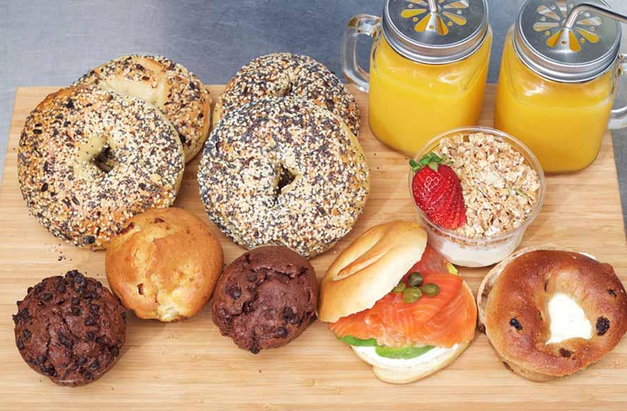 corporate breakfast catering from Brooklyn Bridge Deli