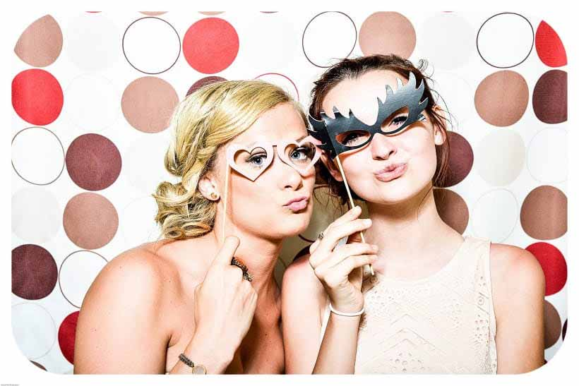 remember the party with a photo booth