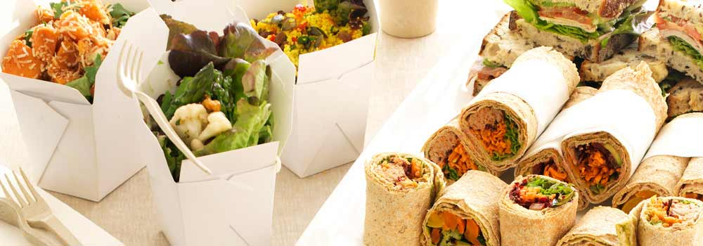 catering for working lunches - corporate lunch ideas for work