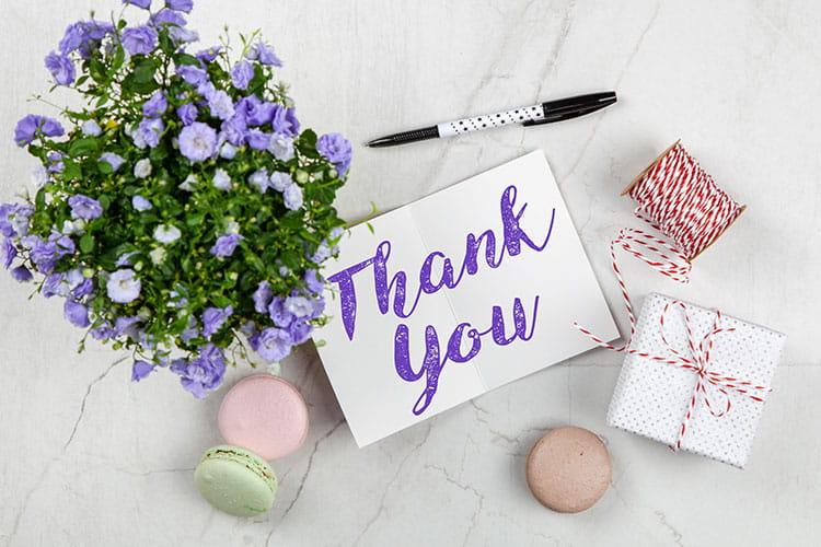 staff appreciation ideas - just say thanks!