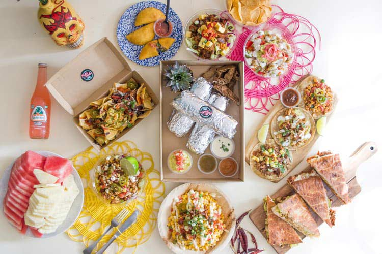 office birthday ideas - try mexican corporate catering