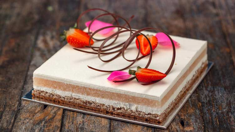 Try Annie Makes Cakes for your next office birthday cake delivery