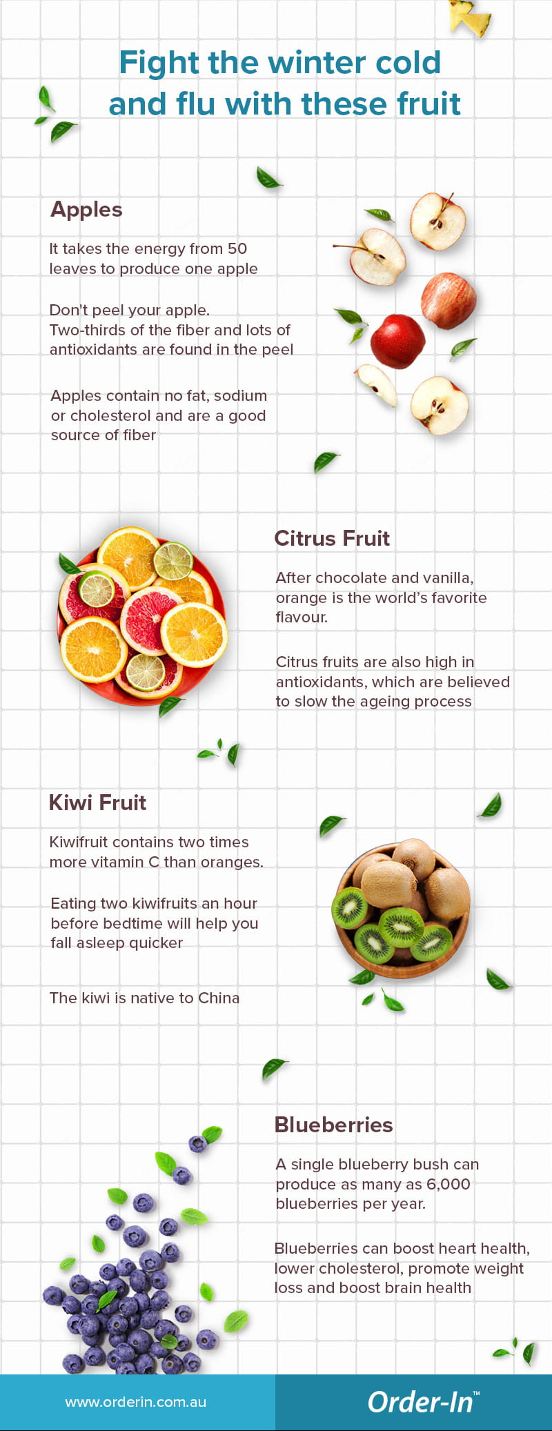 fight the winter cold and flu with these fruit