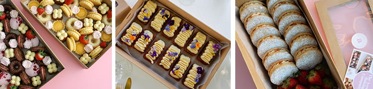 The Avenue Baking Company sweet treat boxes