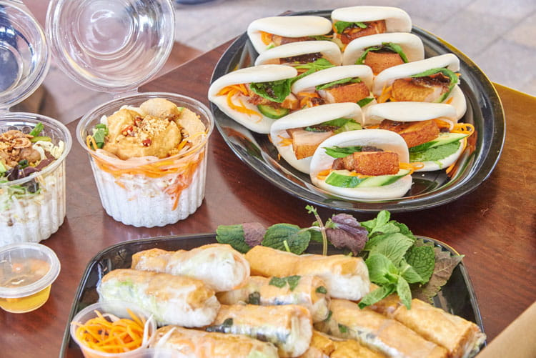 Vietnamese food for your next working lunch