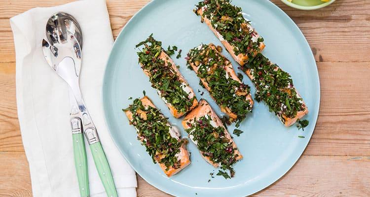Salmon Tarator from Transform Kitchen