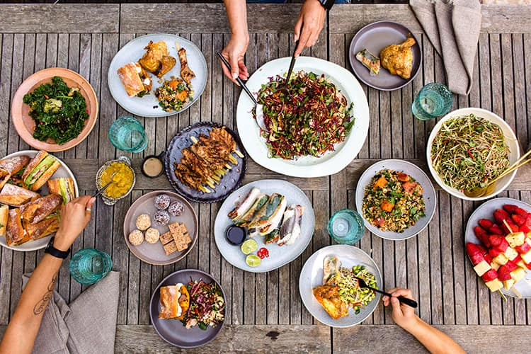 healthy catering and special diet catering Melbourne