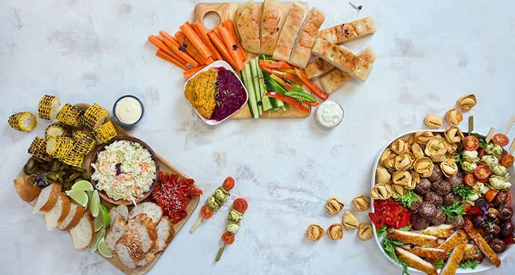 Melbourne corporate catering – gourmet food platters