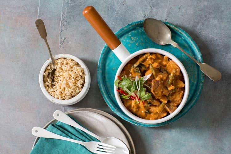 Massaman vegetarian curry - corporate caterer Foxes Den