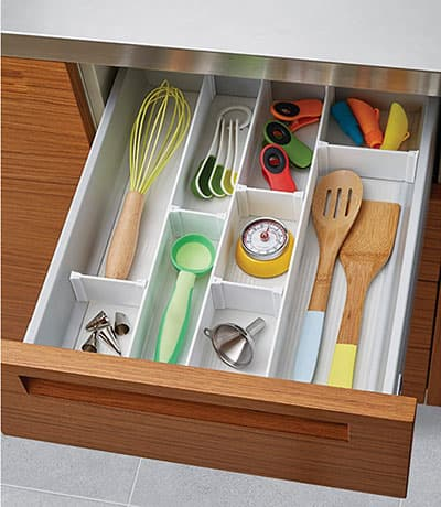 make it easier to find items in your drawer