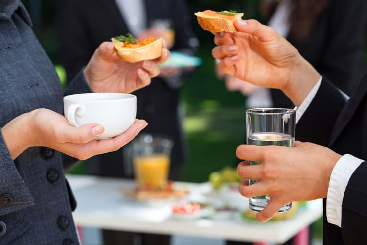 make your next working lunch or meeting a success